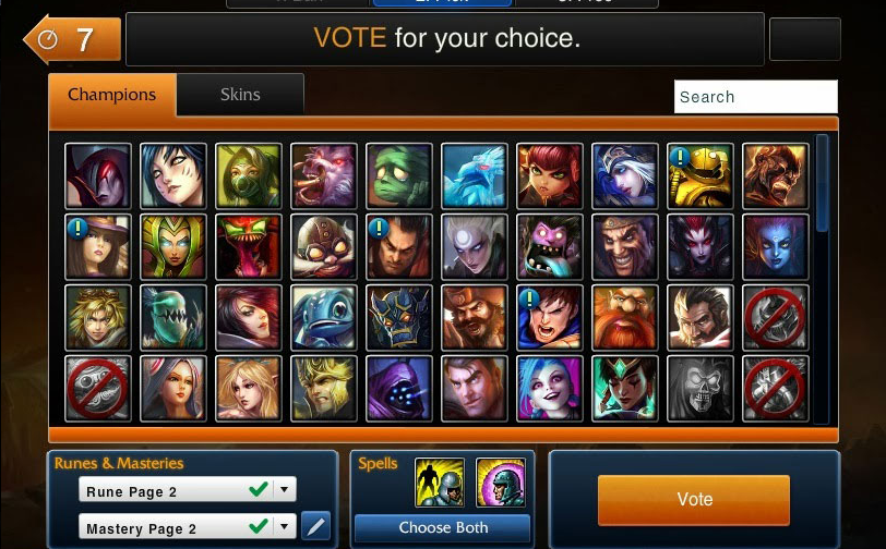 Play Immersion And Flow Of League Of Legends Champion Select System Alexandra Orlando
